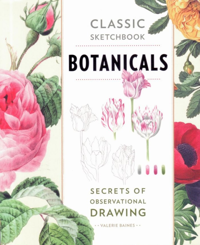 Classic Sketchbook - Botanicals by Valerie Baines